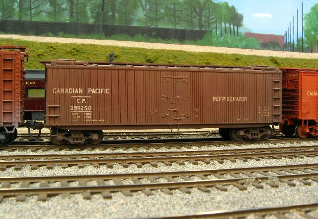 YRM CPR 36 foot Refrigerator Car CLICK to enlarge